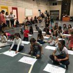 Гостуване на български художници в училището, Барселона 13/10/2018