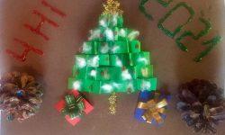 """Деца от БНУ """"Родолюбие"""" в Мароко изпратиха картички за конкурса """"Магията на Коледа"""""""