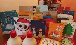 Пристигнаха коледните картички подаръци на децата от българското училище в Мароко