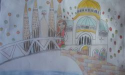 Рисунка на наша ученичка вдъхнови млада писателка от България да напише разказ